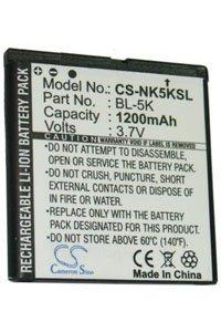 Nokia N86 batterie 1200 mAh